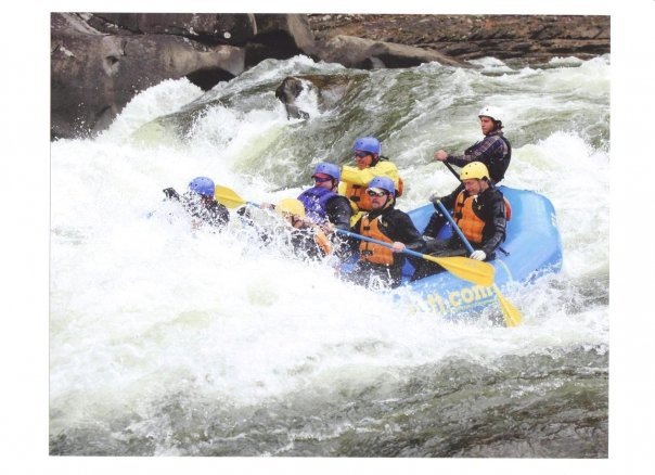 White Water Raft Guide - Peter Demopoulos