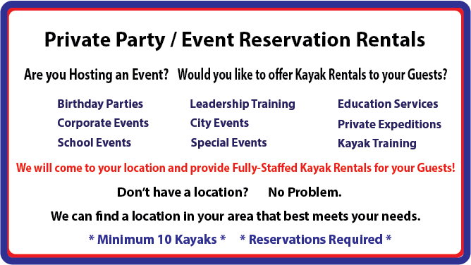 Private Party-Reservations